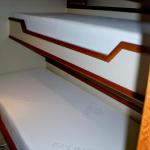 Upper & Lower Crew Bunk - Cool Gel Memory Foam Mattresses