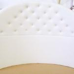 Custom Headboard for Round Bed